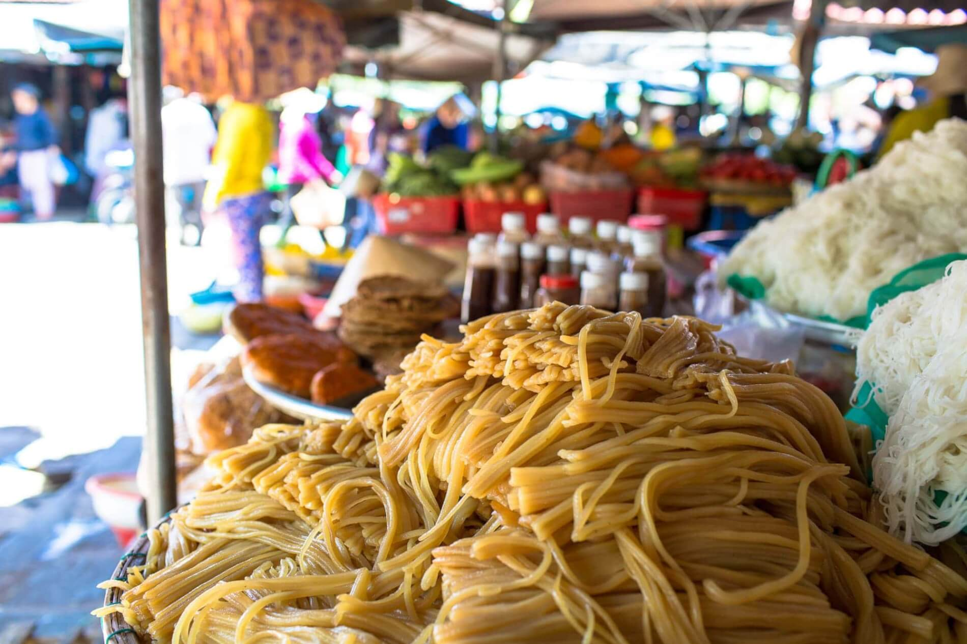 best cao lau noodles