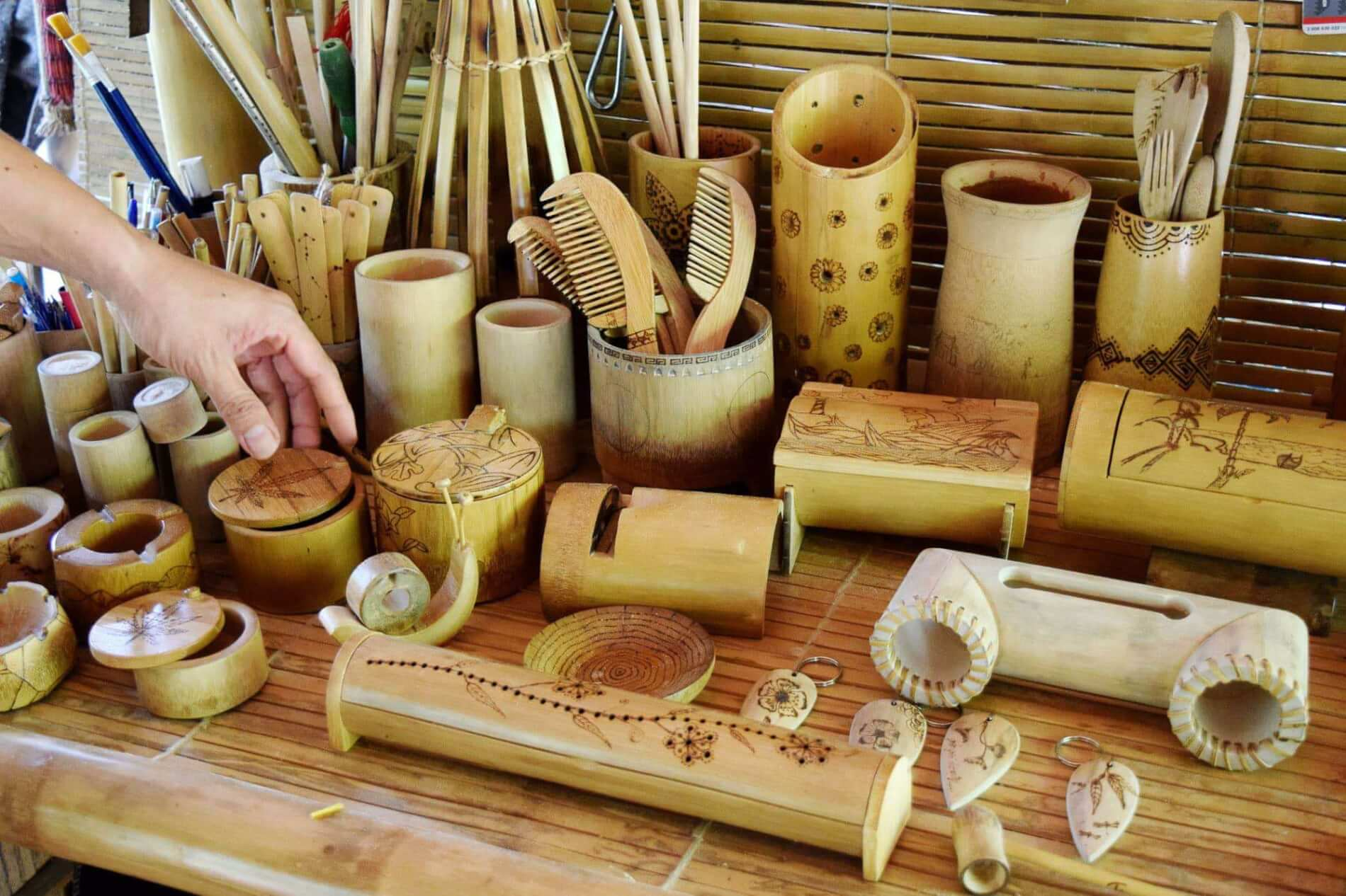 Taboo Bamboo - craft workshops - items
