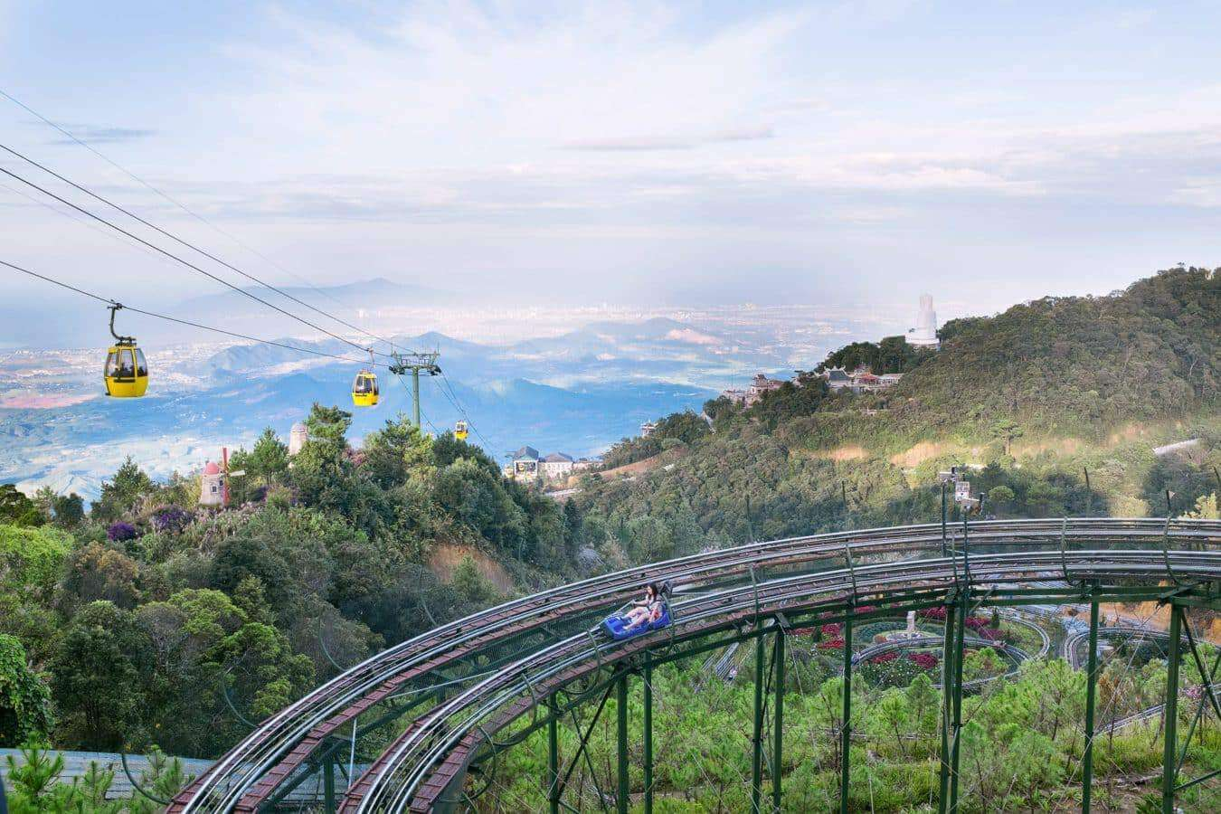 Alpine coaster in Ba Na Hills