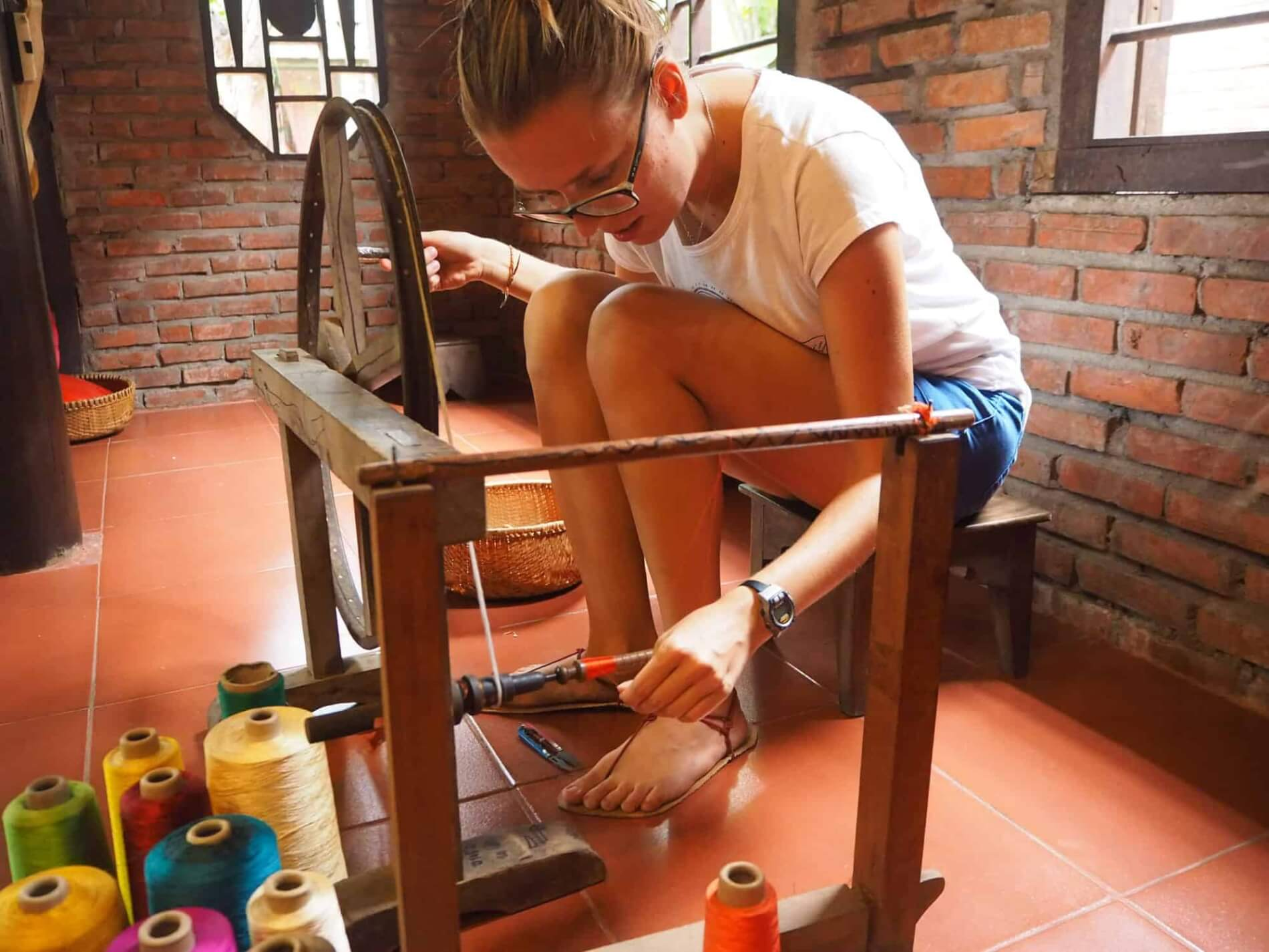 Hoi An Silk Village - hands-on experience