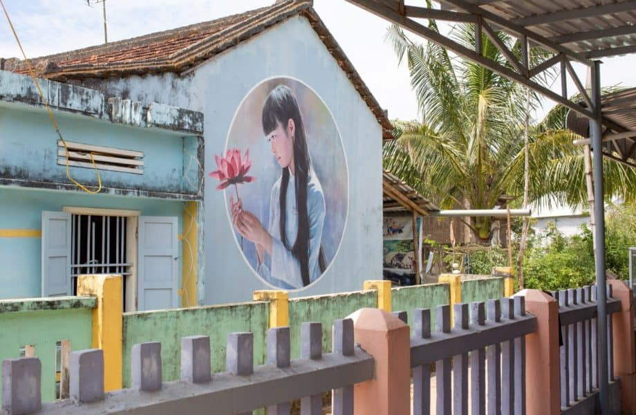 Tam Thanh Mural Village - The Painted Village