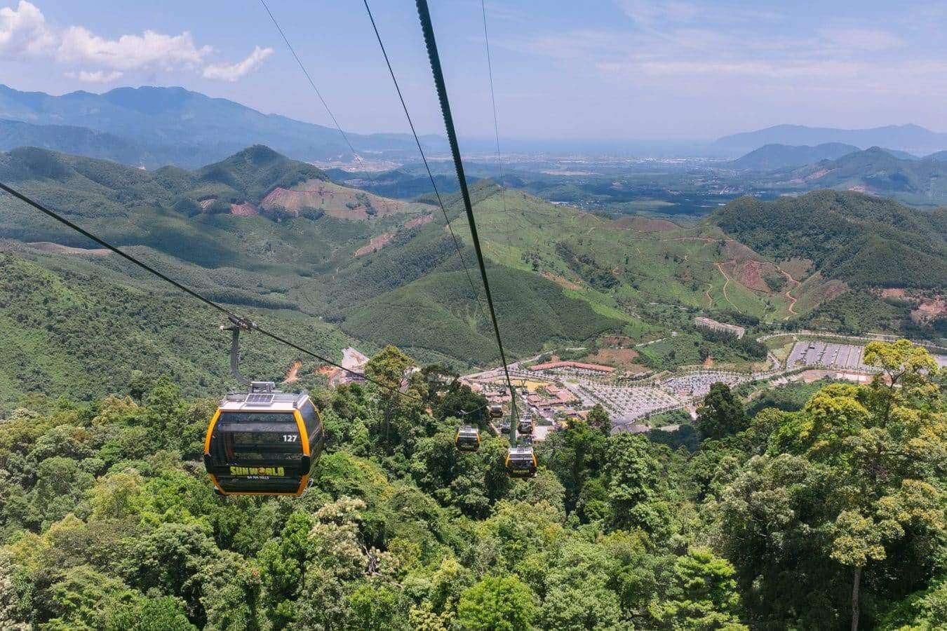 Cable Car - Ba Na Hills