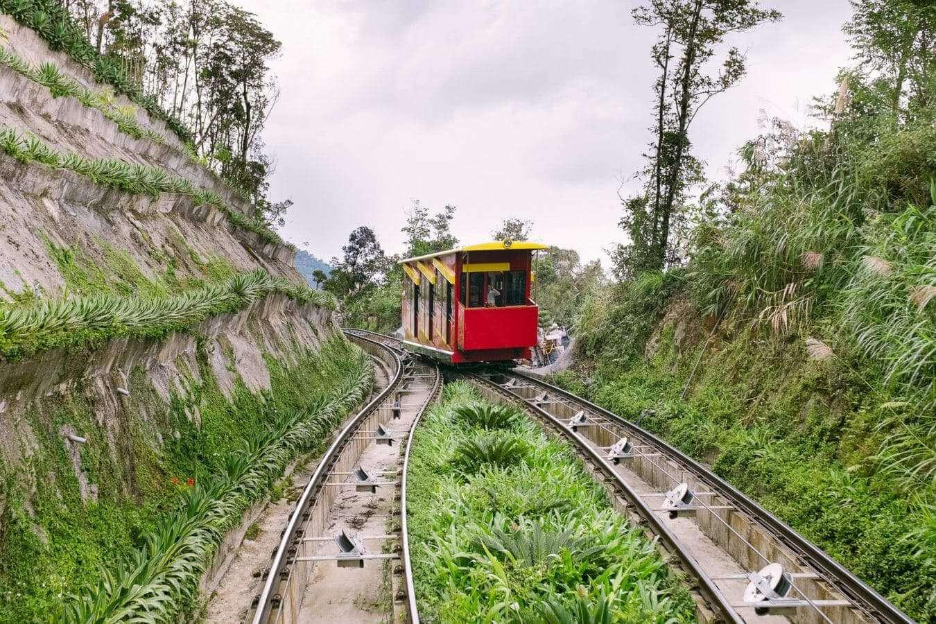 Funicular in Ba Na Hills