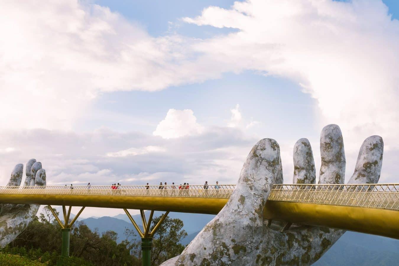 The Golden Bridge or 'Hand Bridge'