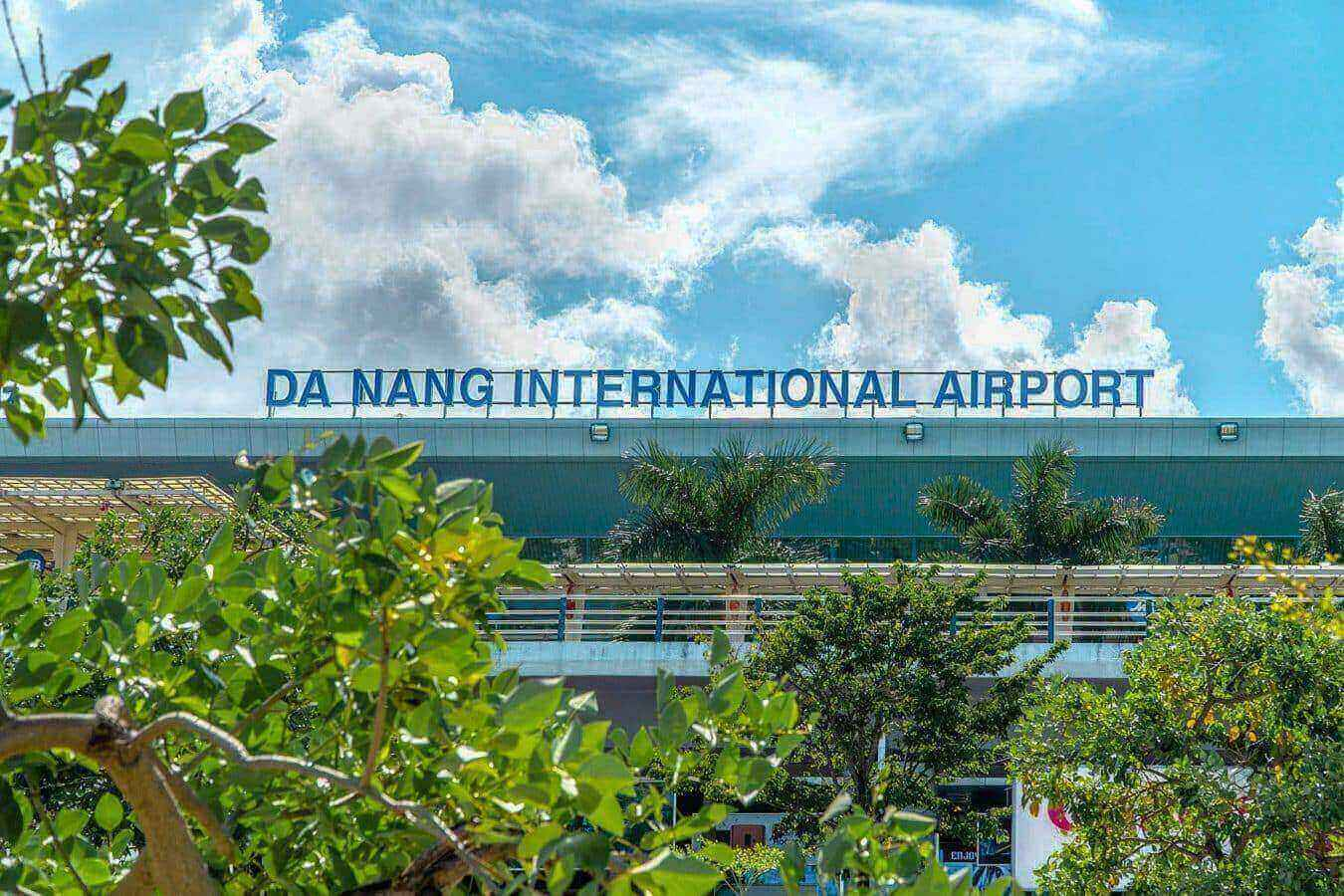Exterior of Da Nang Airport - Da Nang to Hoi An