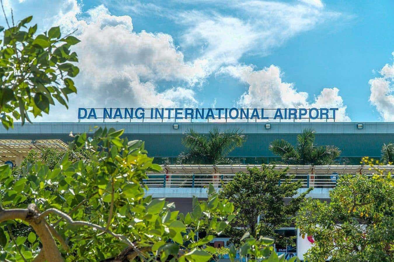 Exterior of Da Nang Airport - Da Nang to Hoi An