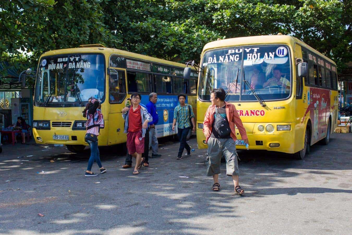 Da Nang to Hoi An bus