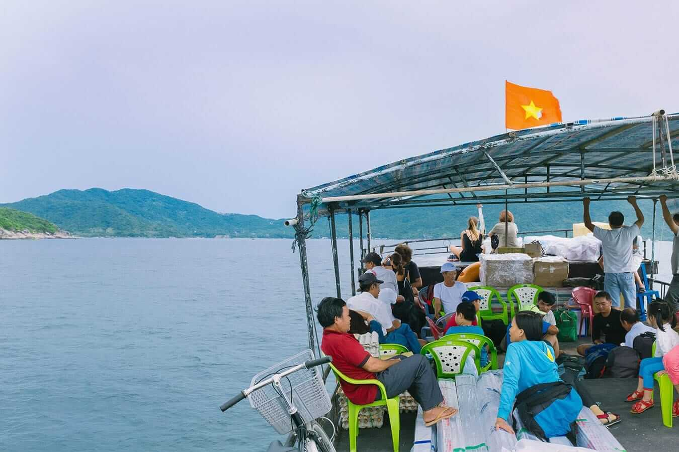 Public ferry to Cham Islands from Hoi An