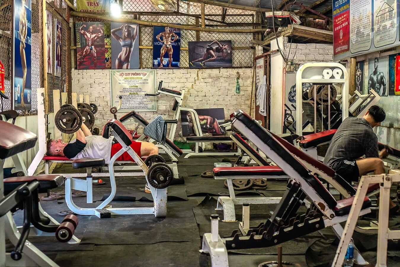 Song Phom: gyms in Hoi An