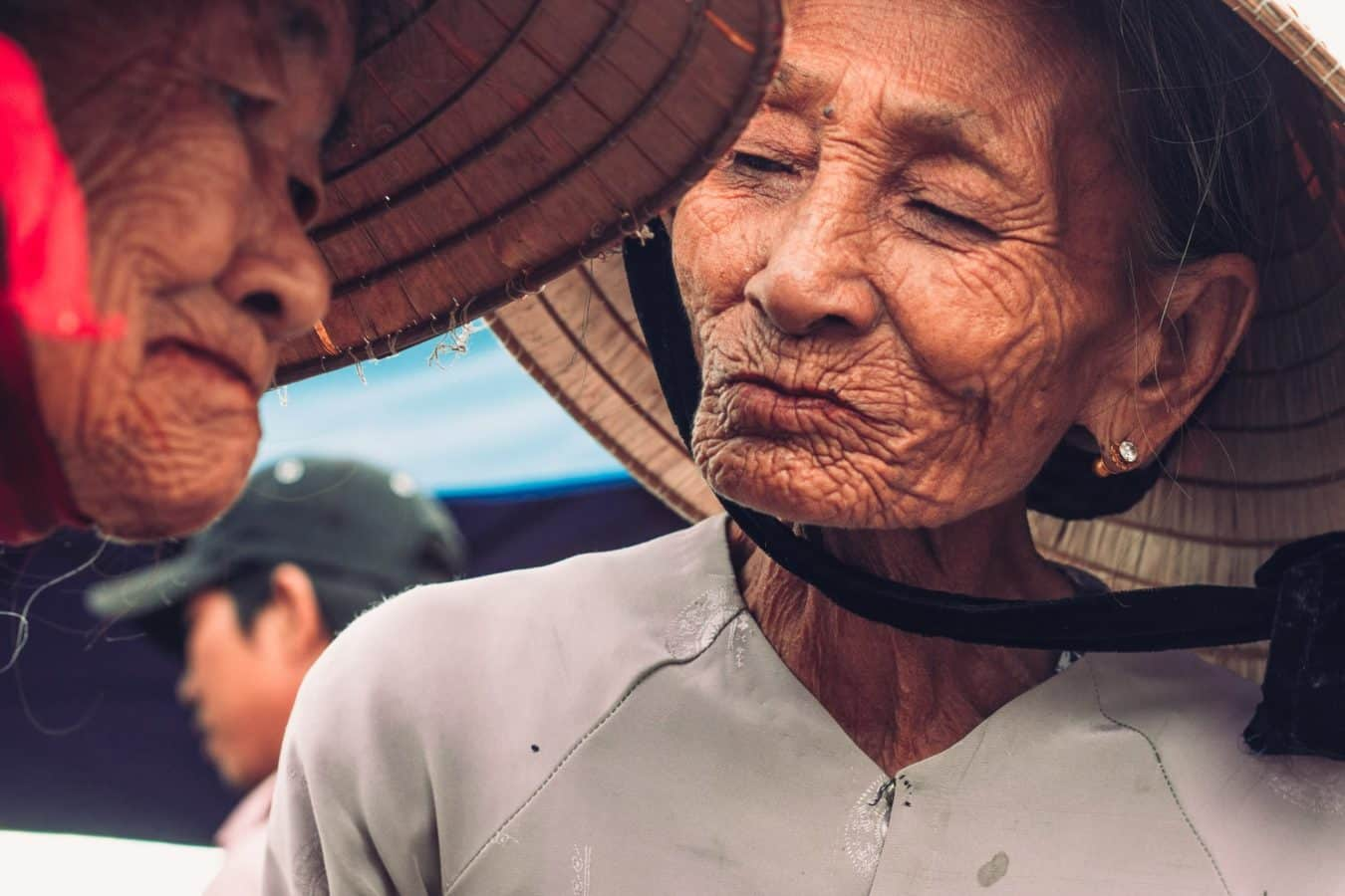 Two old ladies - Hoi An's markets
