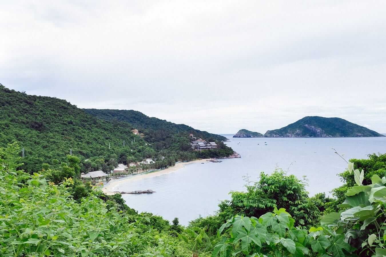 View from Hon Lao, Cham Islands