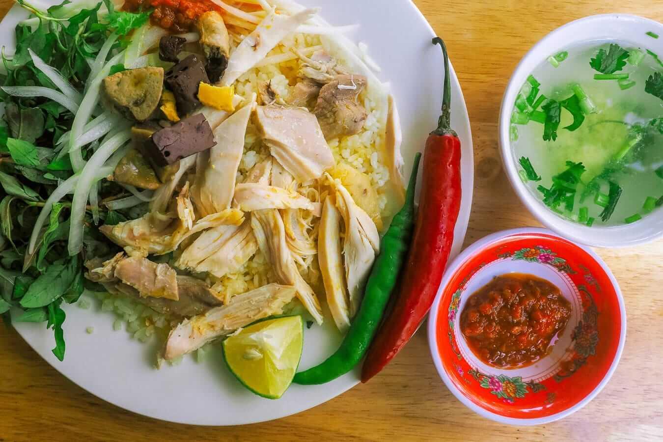 Com Ga: Vietnamese food