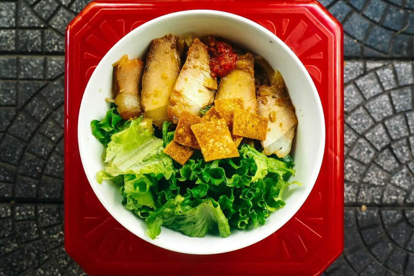 Cau Lau: Hoi An specialities