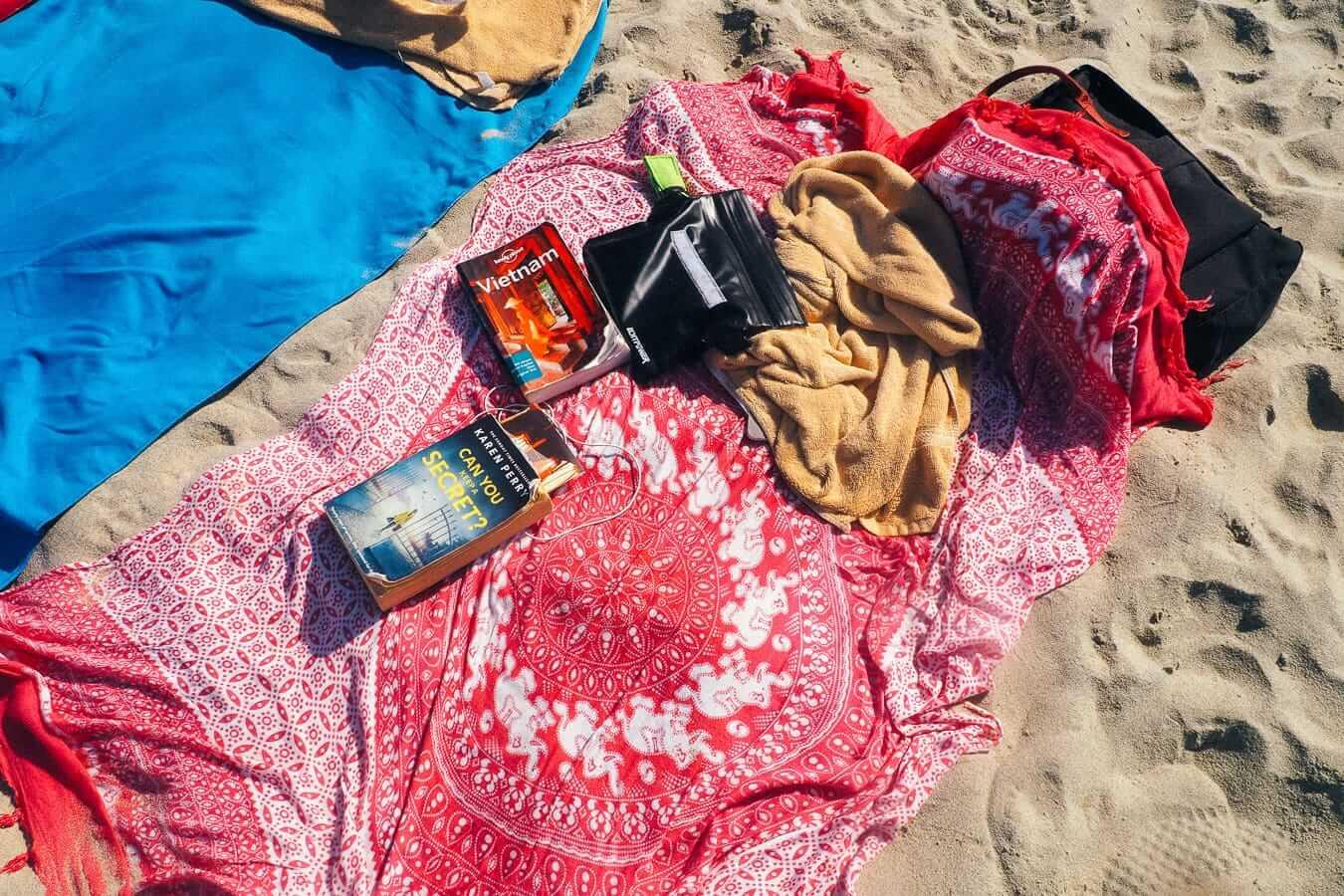 Flatlay on An Bang Beach