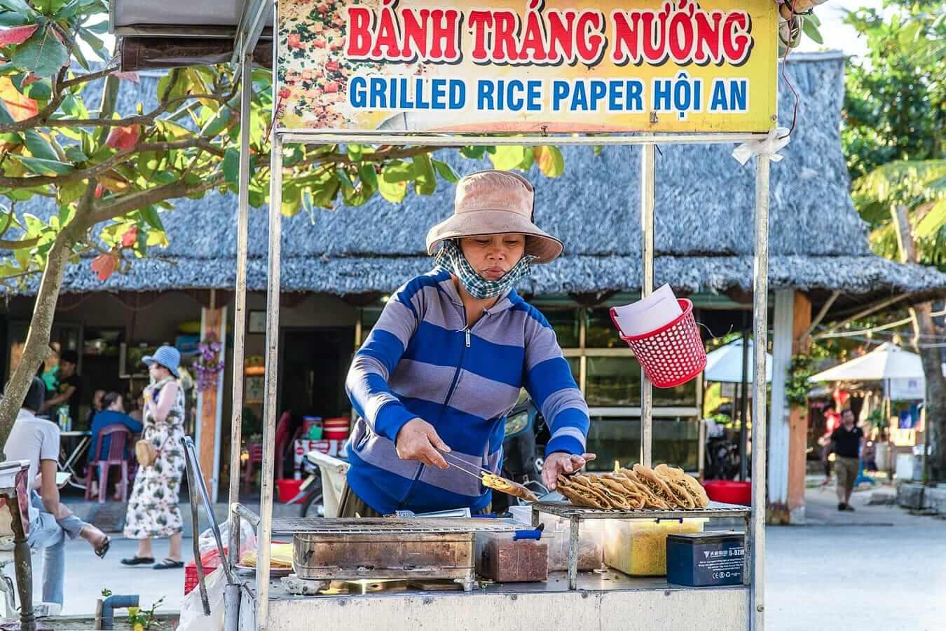 Food stall on An Bang Beach
