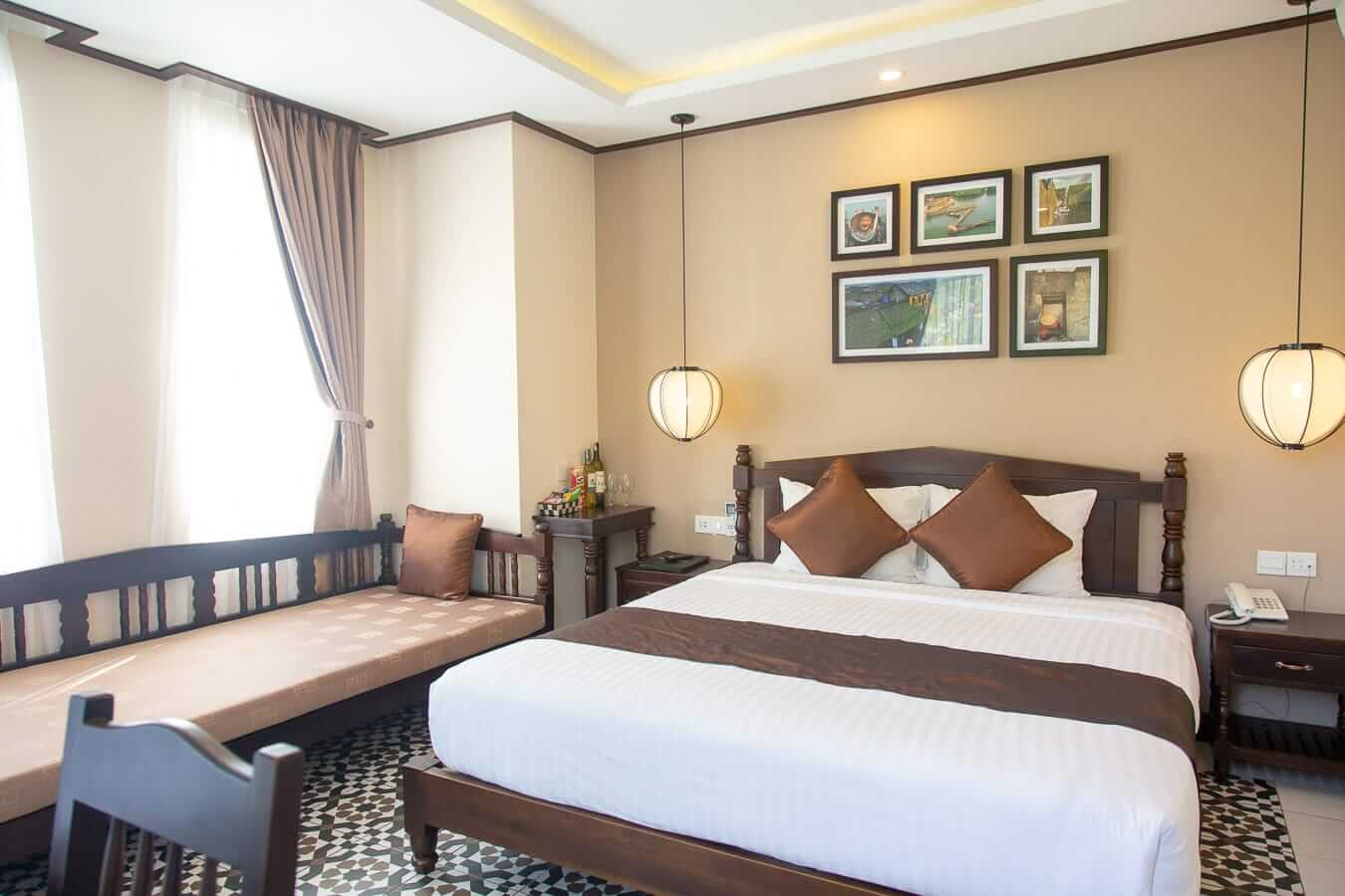 Golden Bell Boutique double room: Best Hoi An hotels