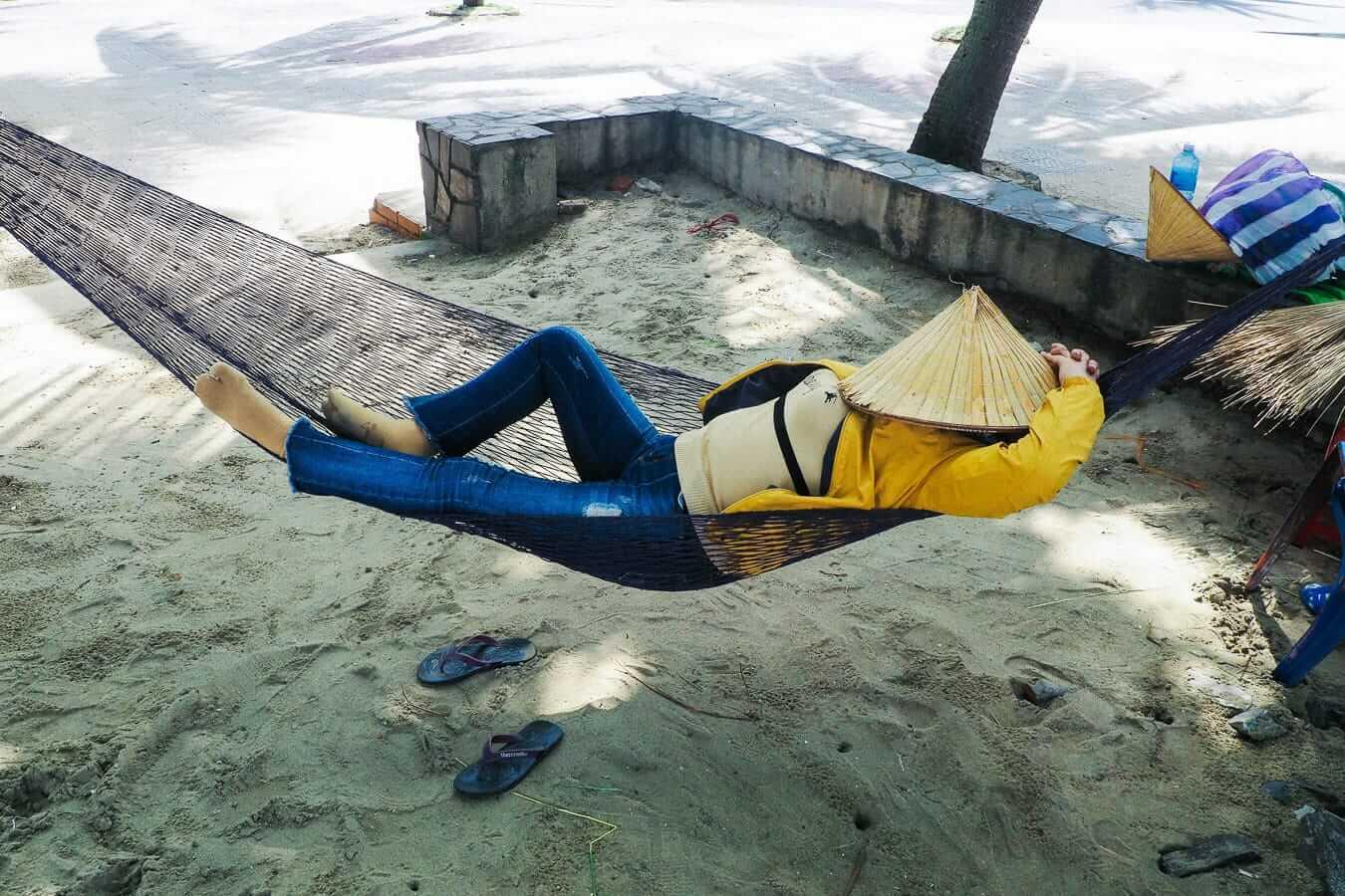Hammock at Cua Dai Beach