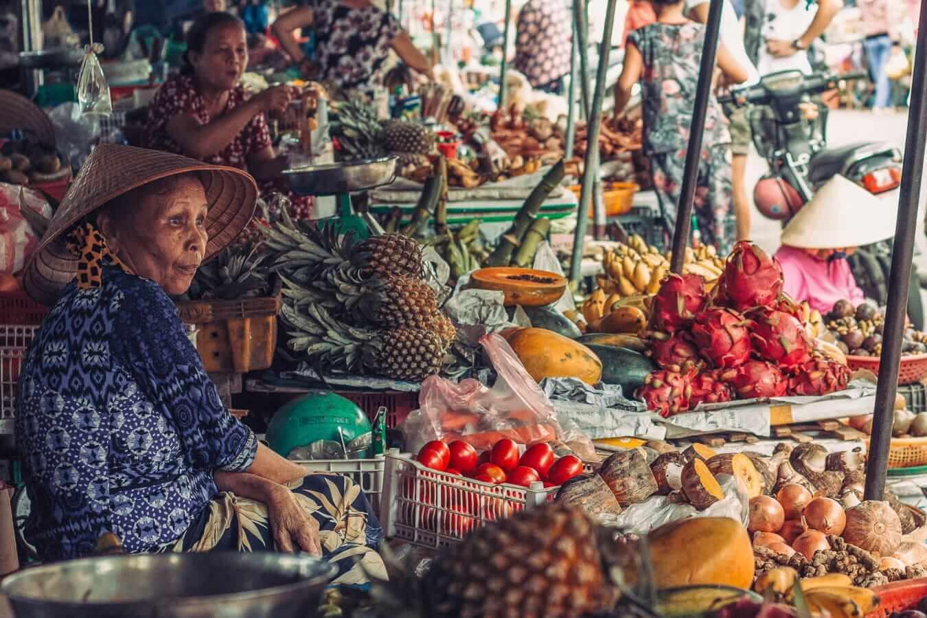 Hoi An Central Market: Hoi An Day Trip