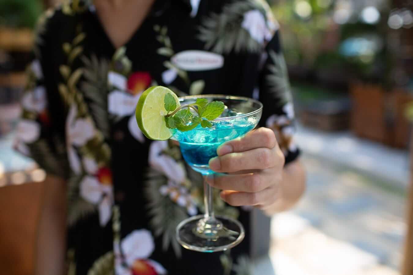 Cocktail at An Bang Beach