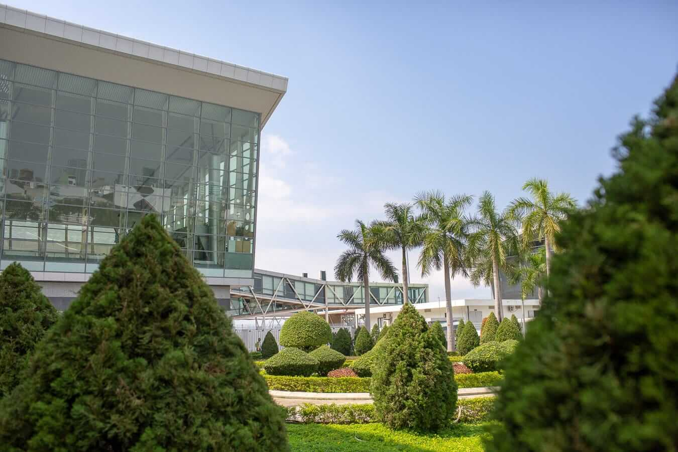 Modern terminal building at Da Nang Airport