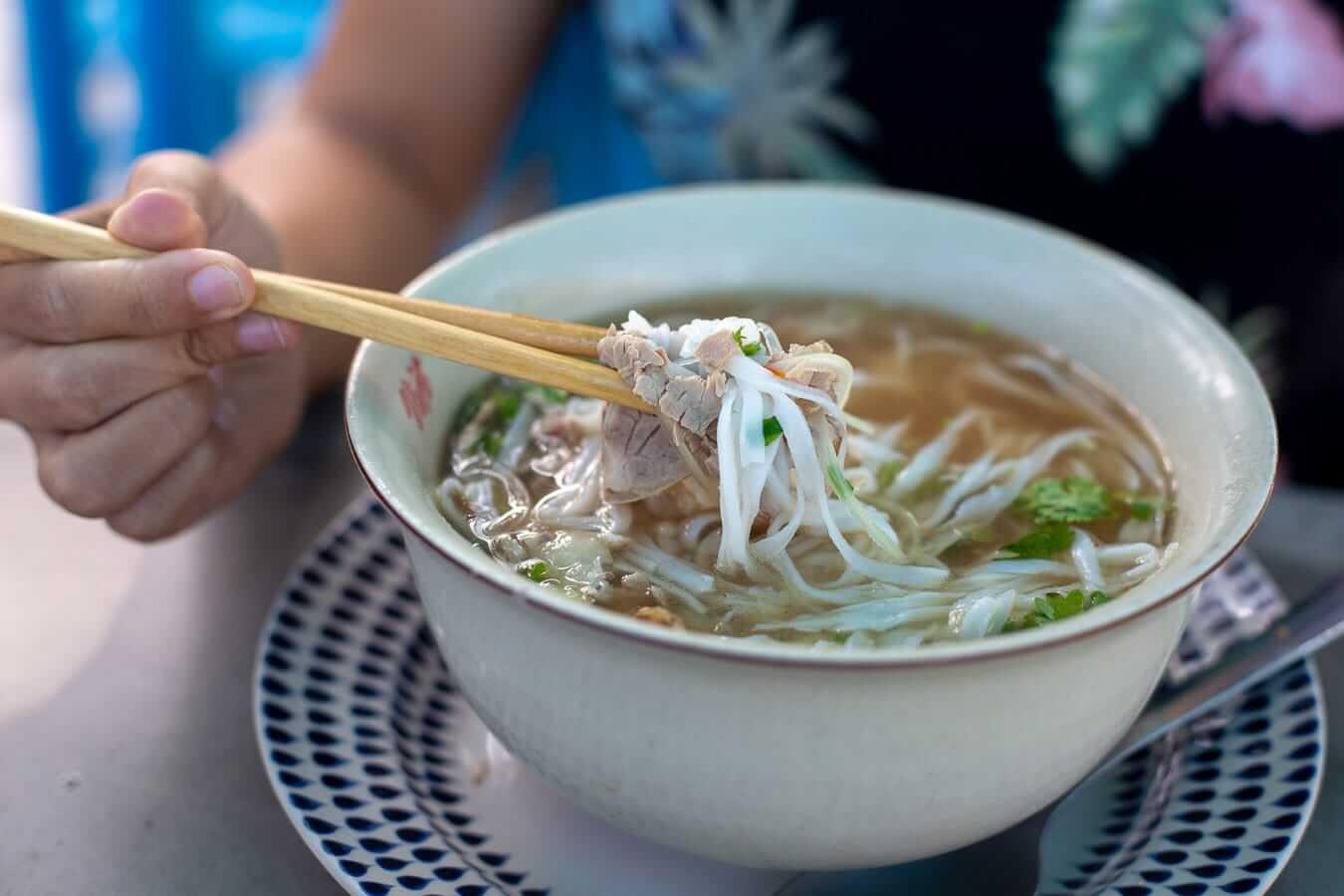 Pho bo: Vietnamese food