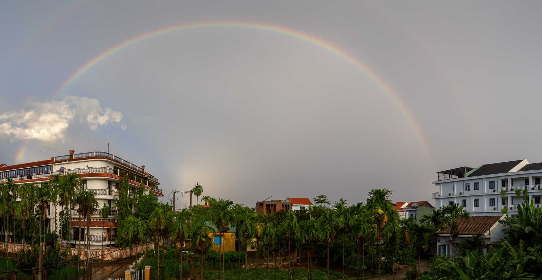 Rainbow in Hoi An