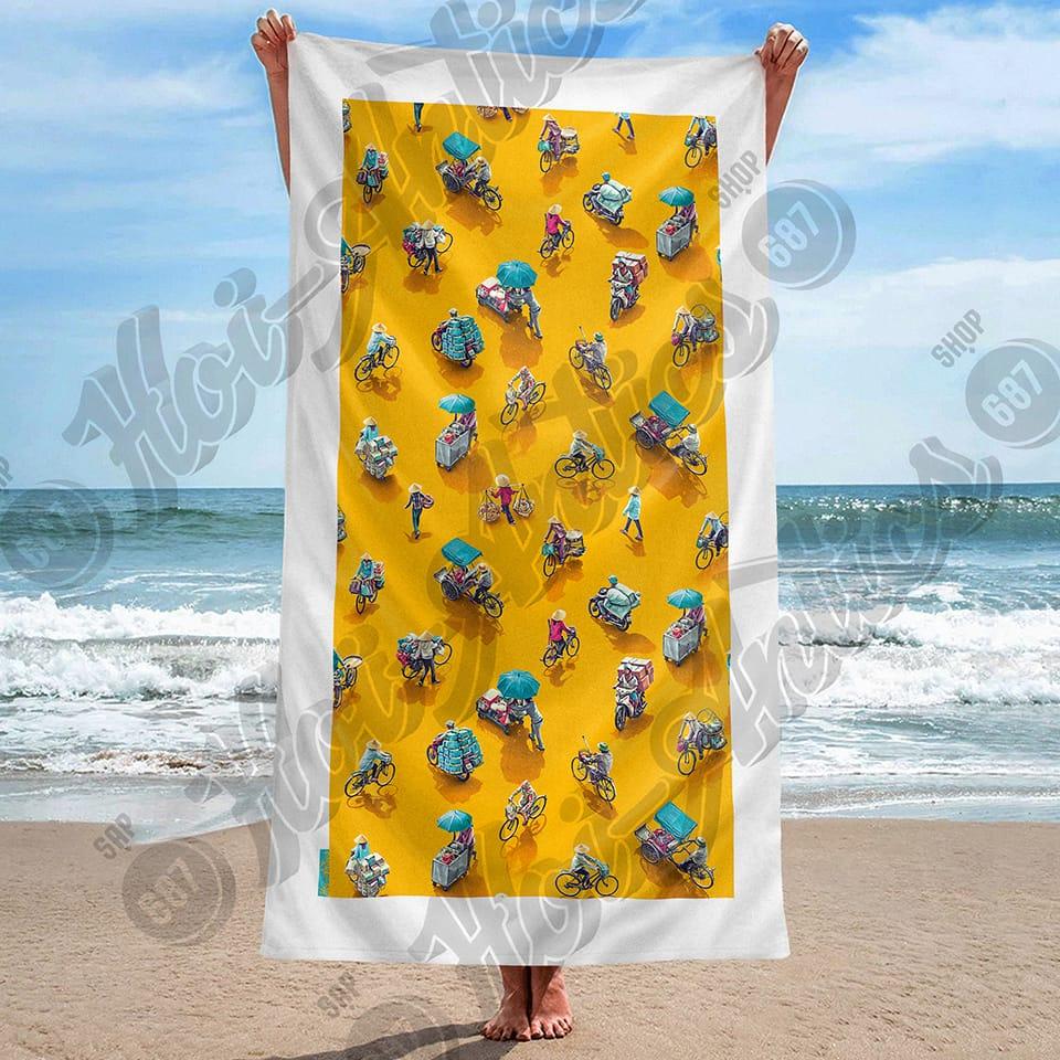 The Hoi-Antics Yellow towel