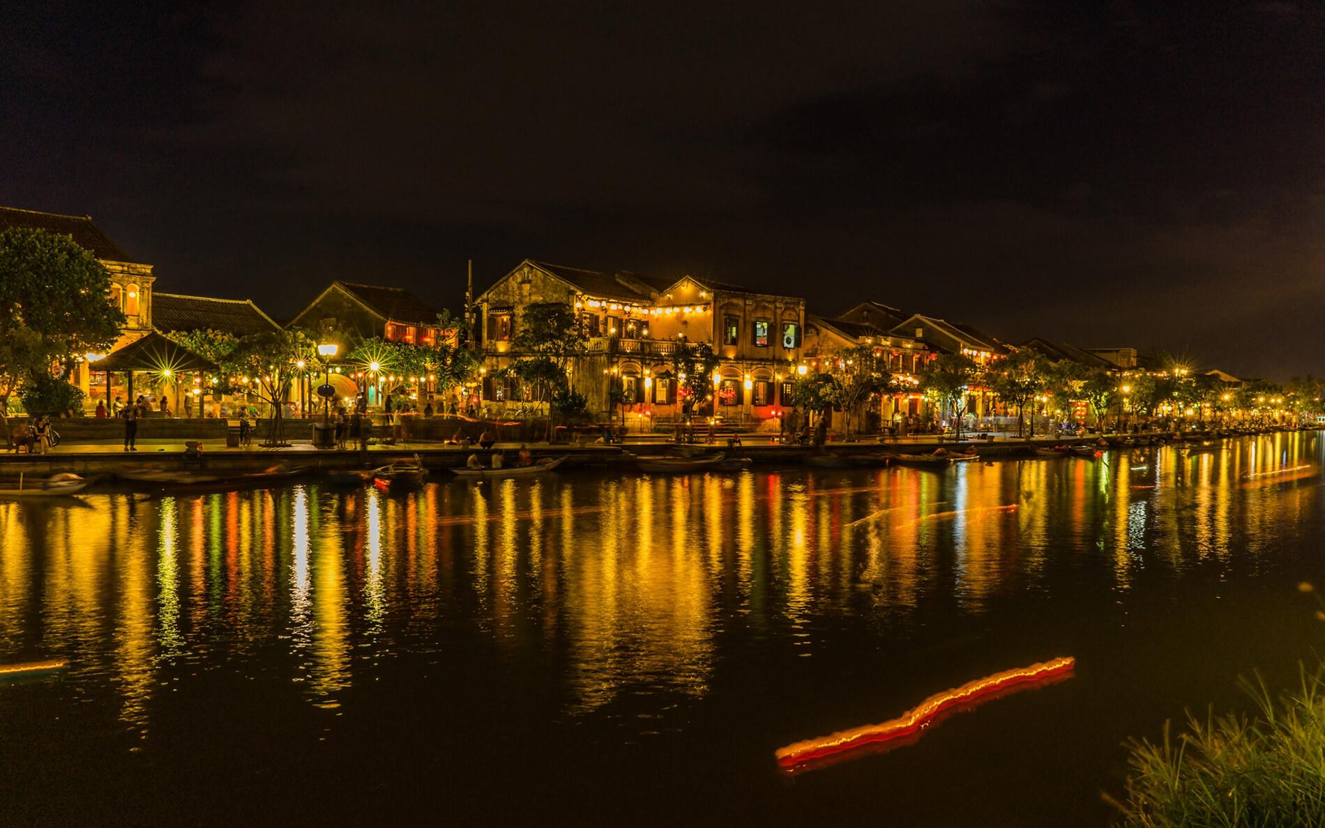 Hoi An Riverfront at night