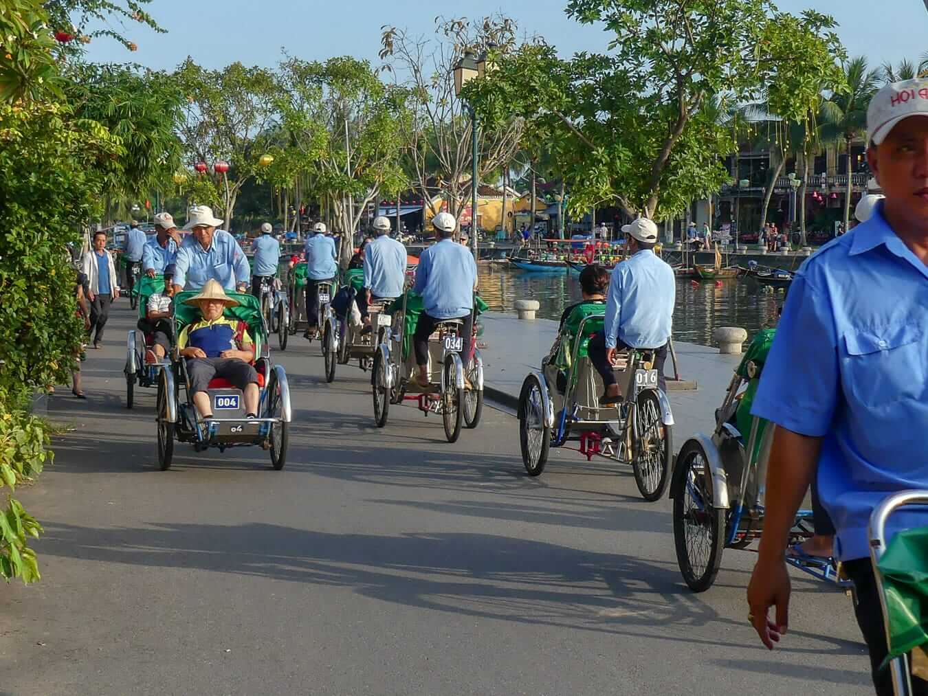 Cyclo drivers: Activities and Tours In Hoi An
