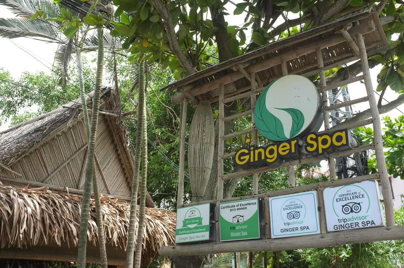 Ginger Spa: best spas in Hoi An