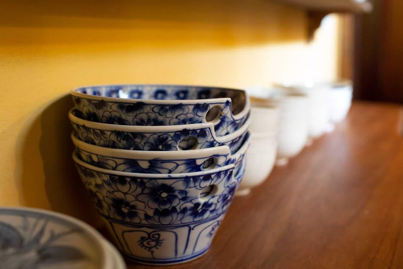 bowls at La Maison de la Mémoire