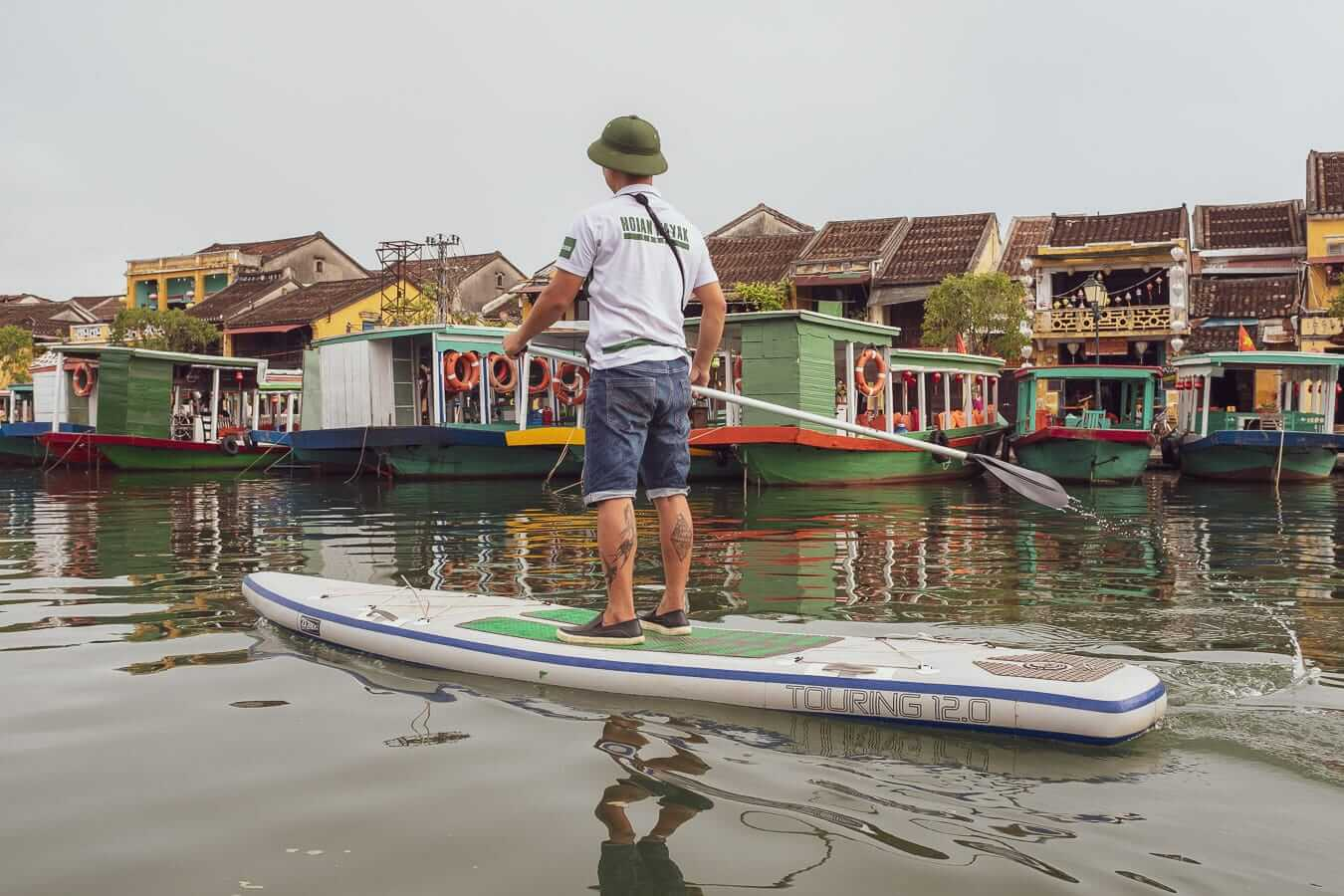 Paddleboarder: Activities and Tours In Hoi An