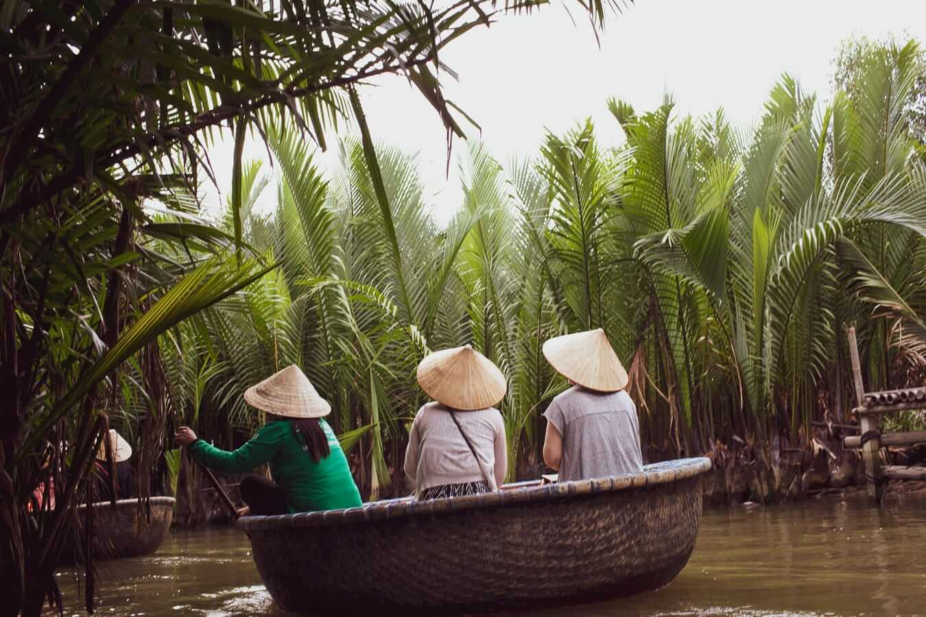 Water Coconut Palm Basket Boats: Activities and Tours In Hoi An