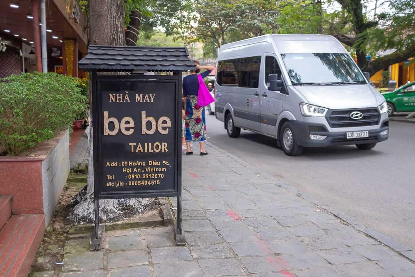 Bebe Tailors: Hoi An bus station