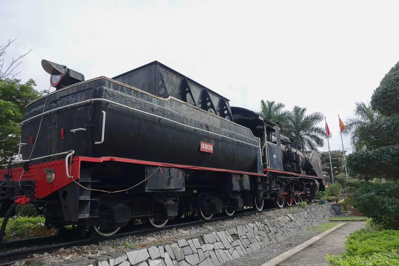 Da Nang Train Station entrance