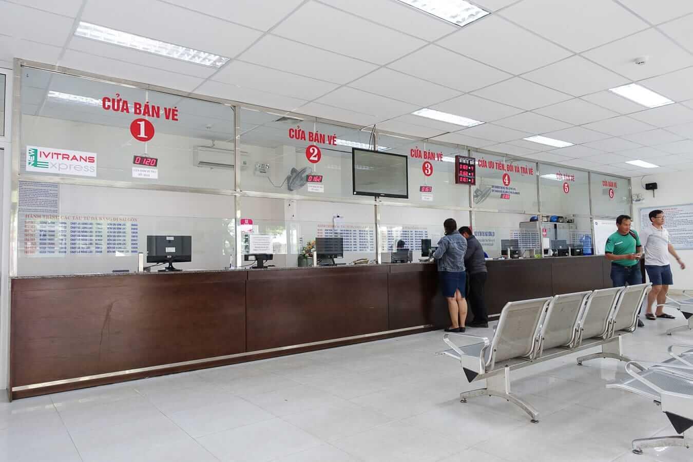 Da Nang Train Station ticket office
