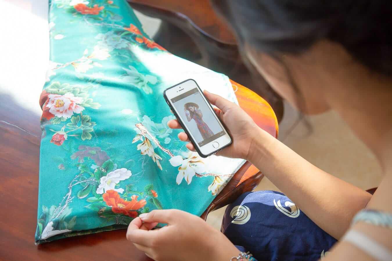 Sample photos for Hoi An tailor