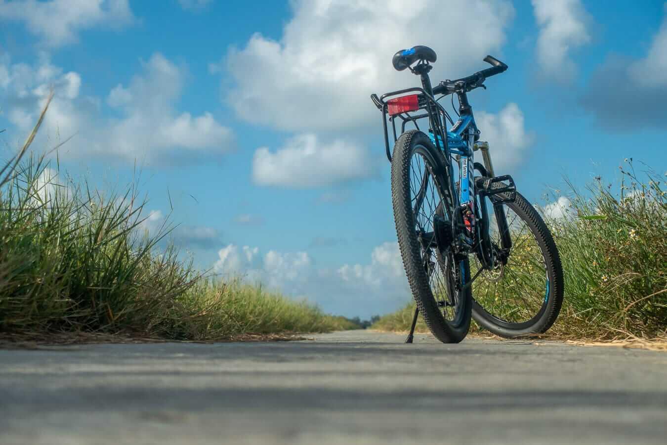 Geared bike: Hoi An cycling