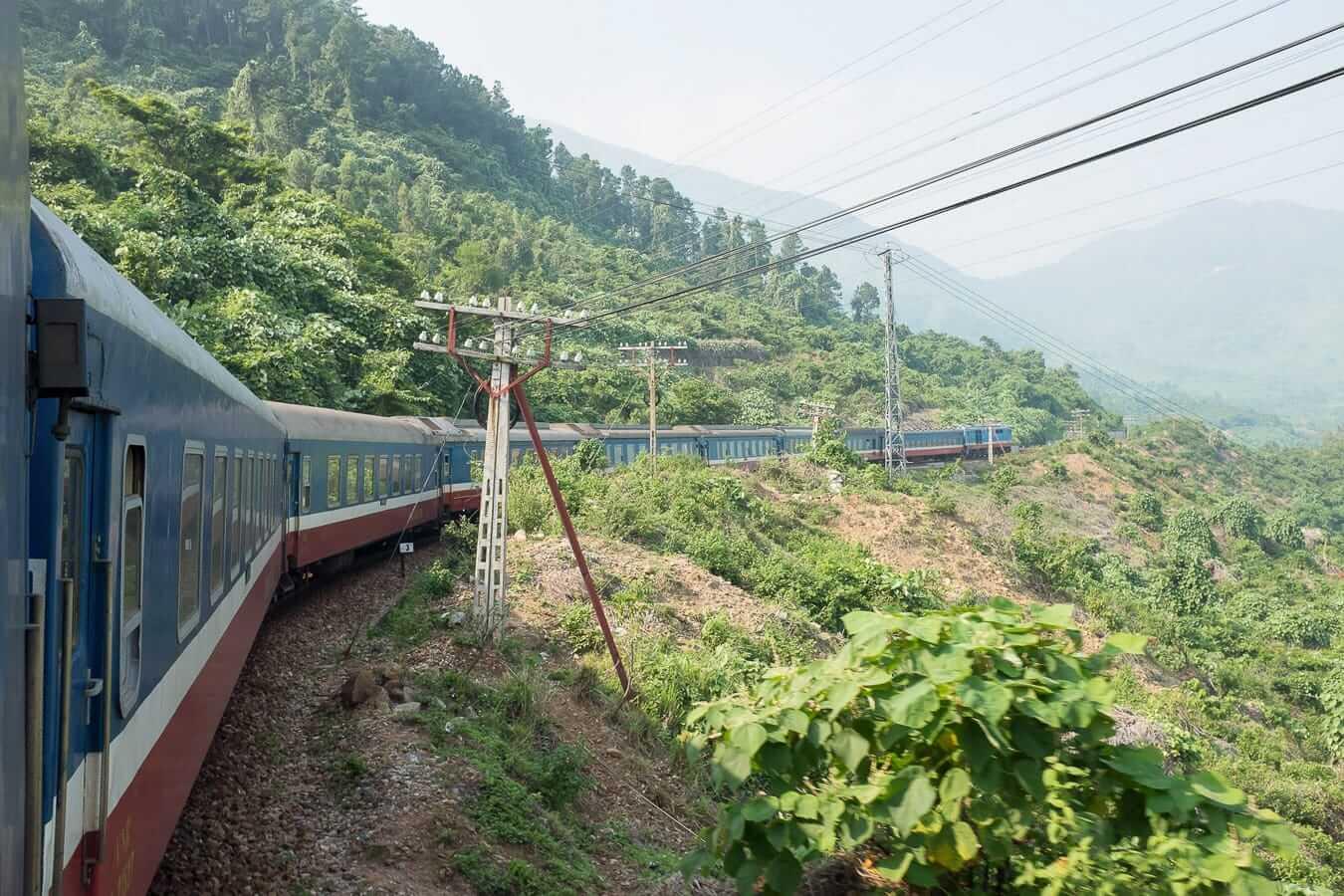 Reunification Express Train: Hanoi to Hoi An