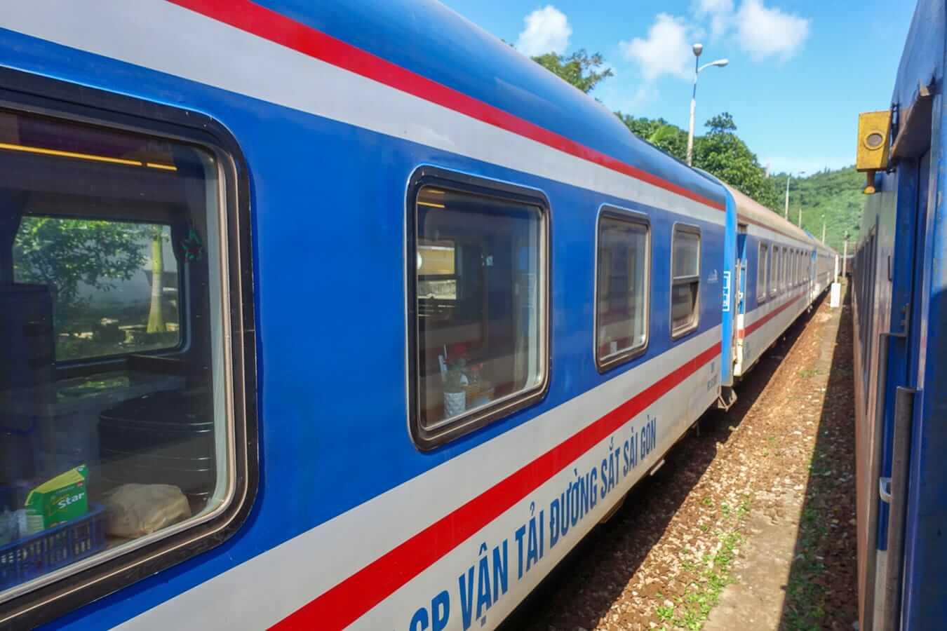 Vietnamese train