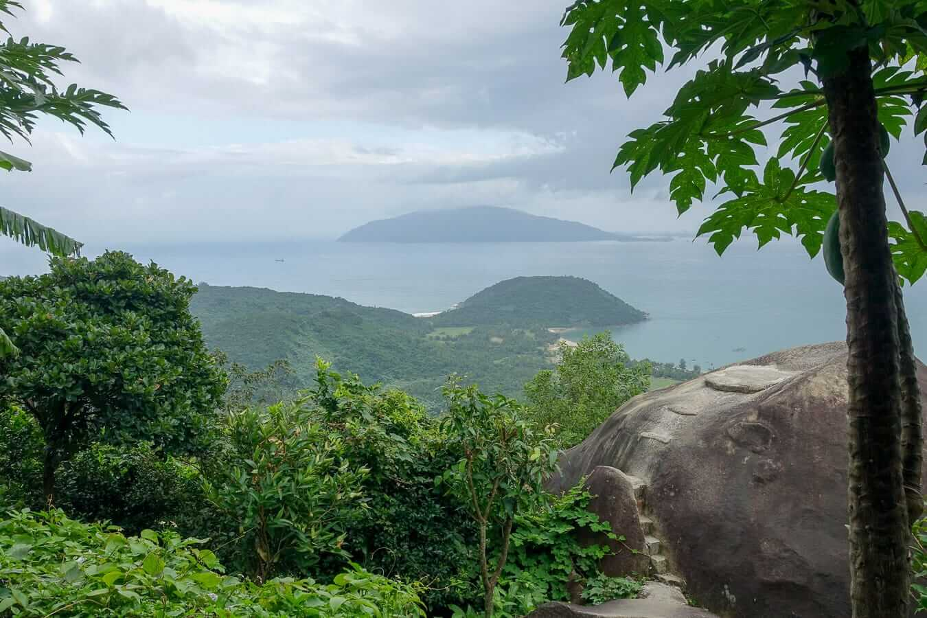 View from Hai Van Pass: Hue to Hoi An by Motorbike