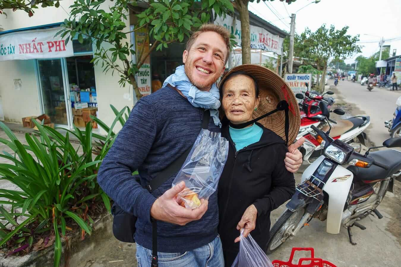 Etienne with a local: Hoi An Photography Tour