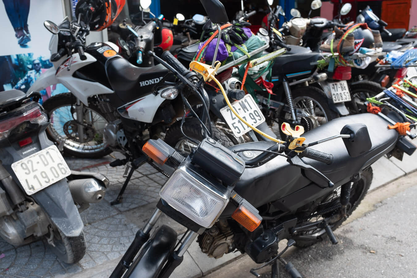 Types of motorbikes: Vietnam motorbike rental
