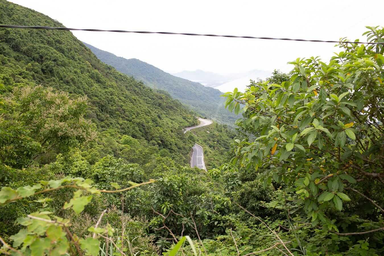 Hai Van Pass route: Hoi An Cycling Tours