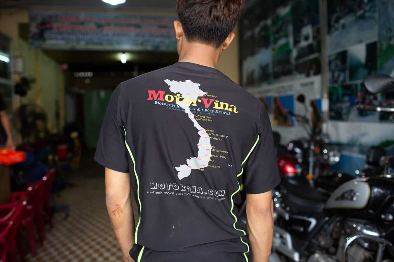 Map of MotorVina's locations: Motorbike Rental Shops in Hoi An