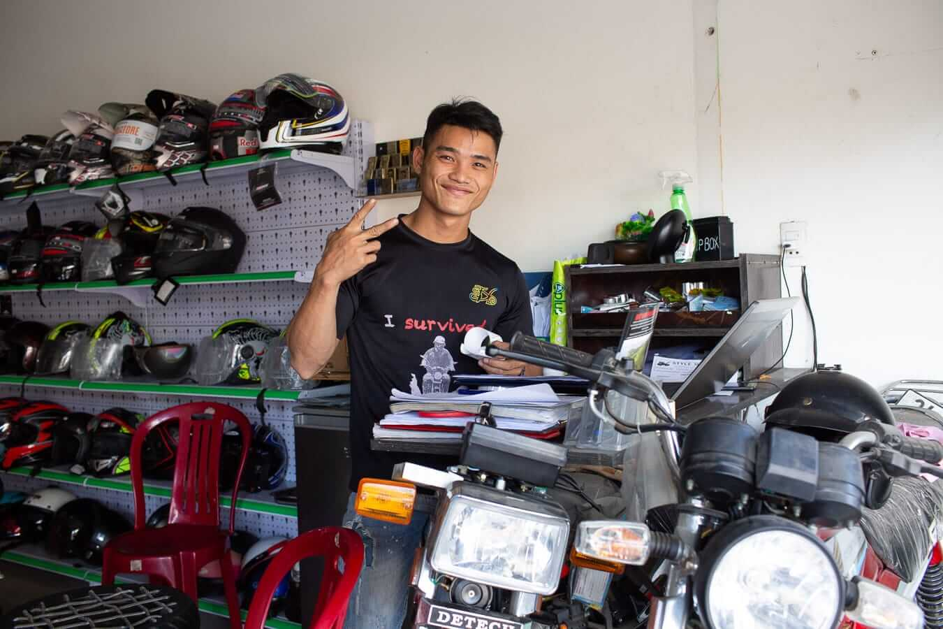Style Motorbikes' desk: Motorbike Rental Shops in Hoi An