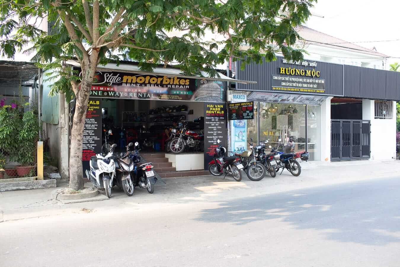 Style Motorbikes Hoi An shop: Motorbike Rental Shops in Hoi An