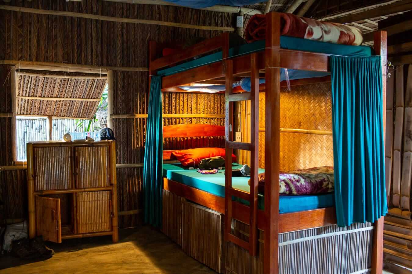 Under The Coconut Tree Hostel bunk beds