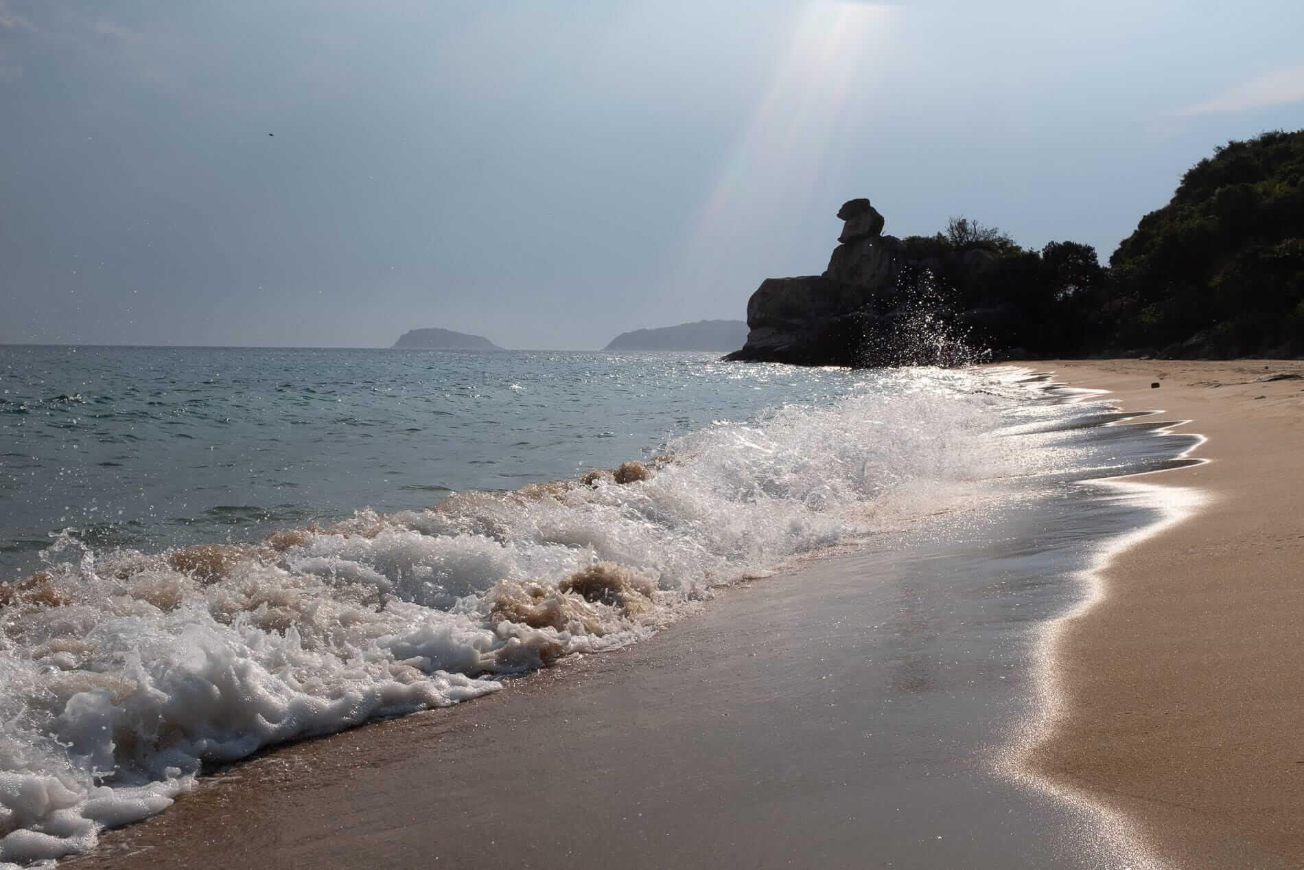 A deserted beach - Cham Island Accommodation