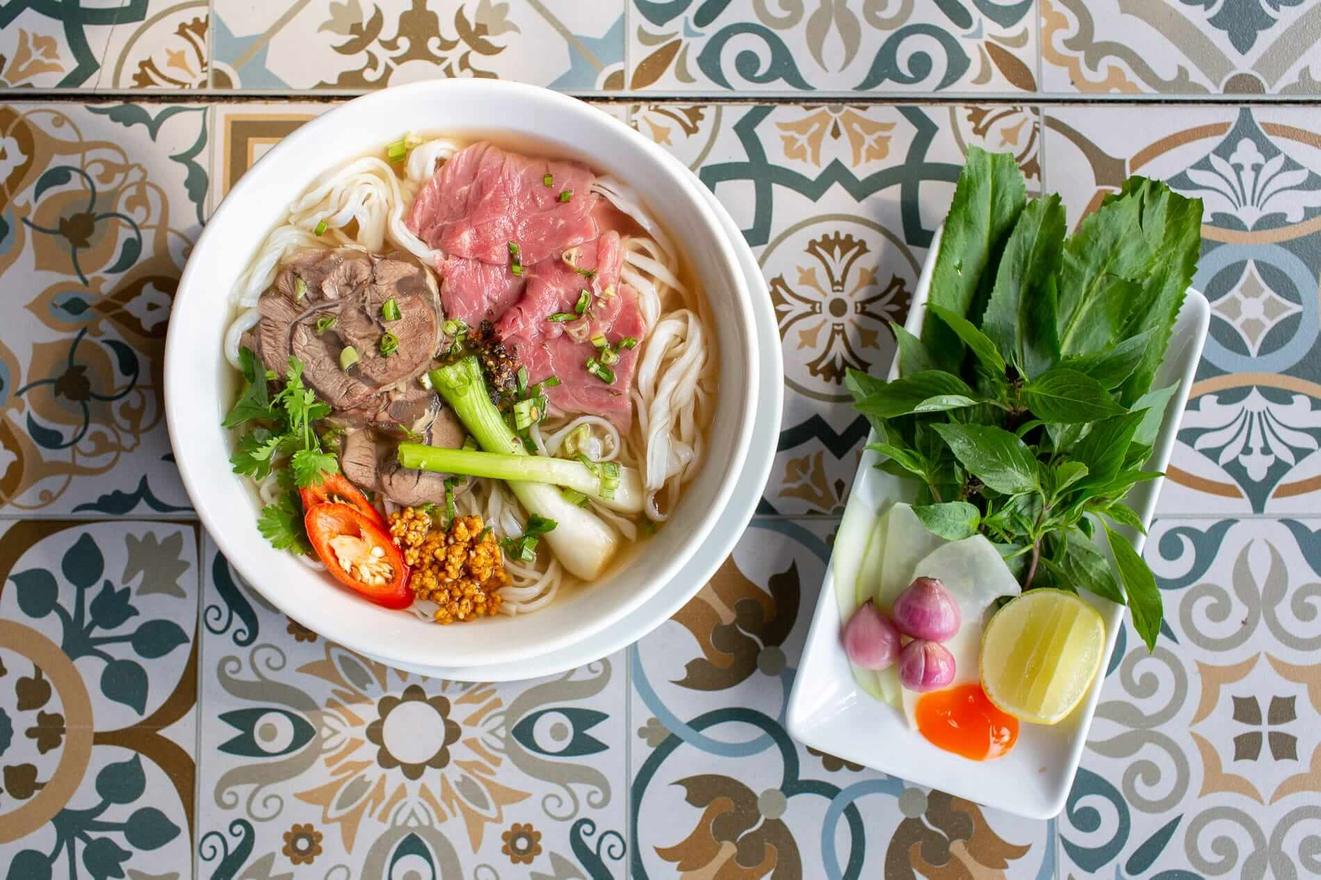 Beef Pho at Vy's Marketplace